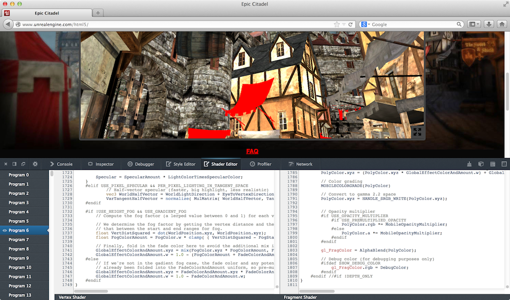 Real-Time Rendering · WebGL Debugging and Profiling Tools