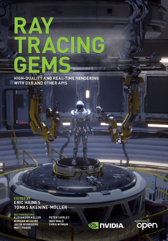 """Ray Tracing Gems"" cover"